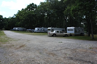 Trailer Parking at Wolf Lake Campground