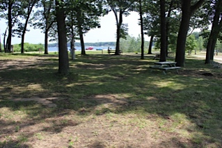 Family Camping at Wolf Lake Muskegon Michigan
